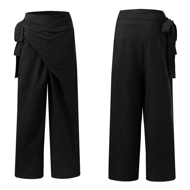 Elegant Solid Pants 5