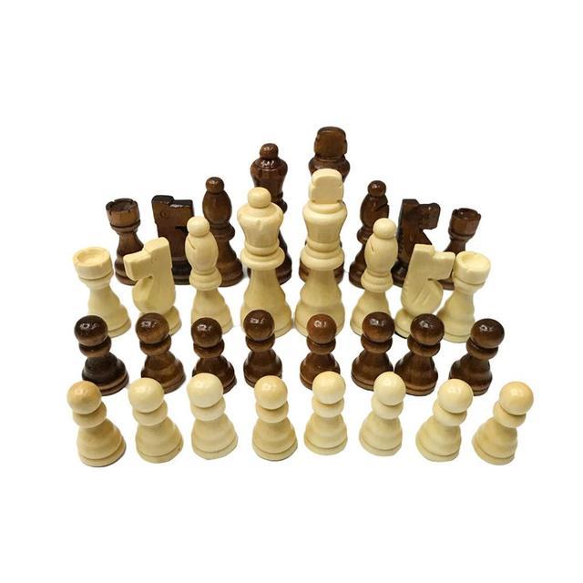 Ensemble d'échecs 32 pièces de 7.7cm, 1