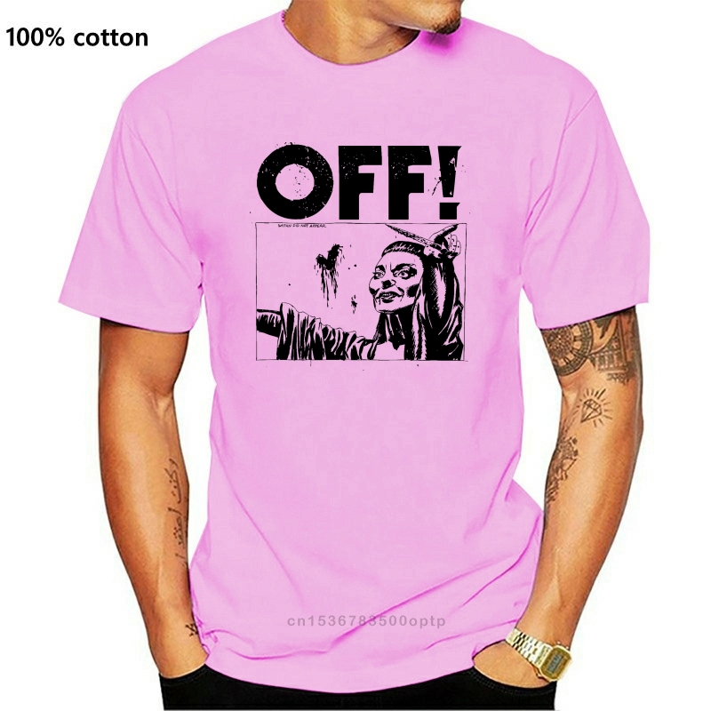OFF! - Satan Did Not Appear White T-Shirt - BRAND NEW - Official High Quality Custom Printed Tops Hipster Tees T Shirt