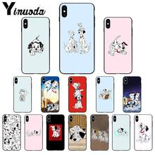 Yinuoda 101 Dalmatians dog Movie TPU Soft High Quality Phone Case for iPhone 8 7 6 6S Plus X XS MAX 5 5S SE XR 11 11pro max(China)