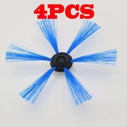 4 шт. подметания робот для Philips FC8603 FC8700 FC8710 FC8810 FC8820 FC8066 боковая щетка круглая щетка. Тематические товары про рептилий и земноводных кисть