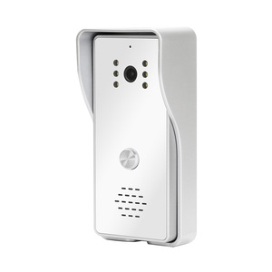 Homefong Wired Call Panel for Video Intercom Video Call Door Phone Infrared Night Vision WaterProof 800TVL 4 Pin Wire Interfaces