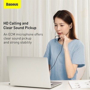 Image 5 - Baseus H19 Wired Earphones 6D Stereo Bass Headphone In Ear 3.5mm Headset with MIC for Xiaomi Samsung Phones