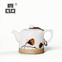 TANGPIN potes pote de chá chinês do kung fu jogo de chá bule de cerâmica pintado à mão copos 200ml|Bules| |  -