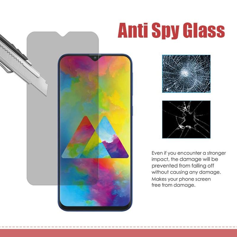 Антишпионская защита экрана на Galaxy A70 A20 A20e A30 A40 A30S A50S антибликовое закаленное стекло для Samsung A50 A10 A01 A02S