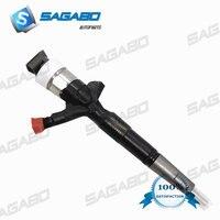 095000-8290 Hilux 23670-0L050 orijinal ve yepyeni dizel sabit basınçlı püskürtme enjektörü