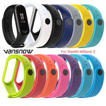 New-Arrival Smart Wearable Device Bracelet Strap for Xiaomi Mi Band 4 3 Silicone Band4