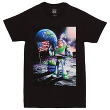 Toy Story Cosmic Explorer Adult T-Shirt New Arrival Male Tees Casual Boy T Shirt Tops Discounts Round Neck Crazy Top Tee(China)