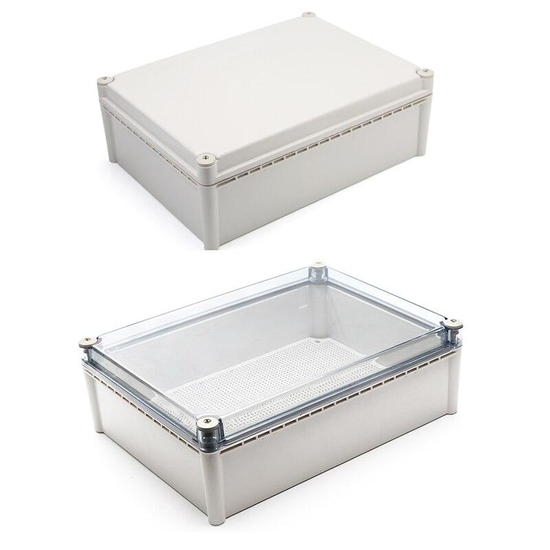 IP67 waterdichte ABS plastic diy terminal junction box case behuizing behuizing voor elektronische met montage board 200*200 380*280
