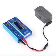 Rápido adaptador de cabo de carregamento da bateria para dji mavic 2 pro zoom para b6ac equilíbrio carregador conector linha transferência zangão acessórios