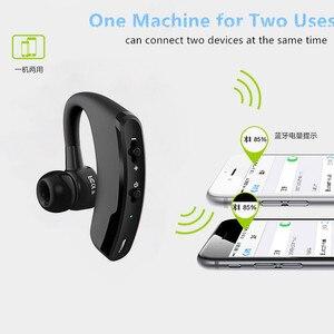 Image 4 - V9 Draadloze Voice Control Muziek Sport Bluetooth Handsfree Business Oortelefoon Bluetooth 4.1 Hoofdtelefoon Noise Cancelling Headset
