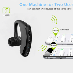 Image 4 - V9 Wireless Voice Control Music Sports Bluetooth Handsfree Business Earphone Bluetooth 4.1 Headphones Noise Cancelling Headset