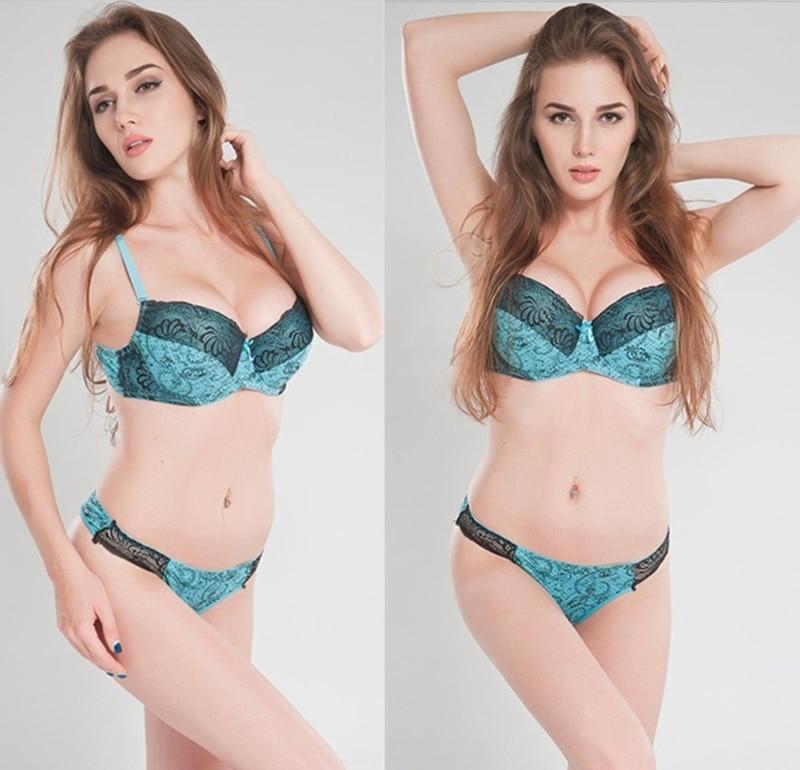 CXZD New lingerie bra ultrathin lace bralette sexy underwear set women's underwear sexy bra set (3)