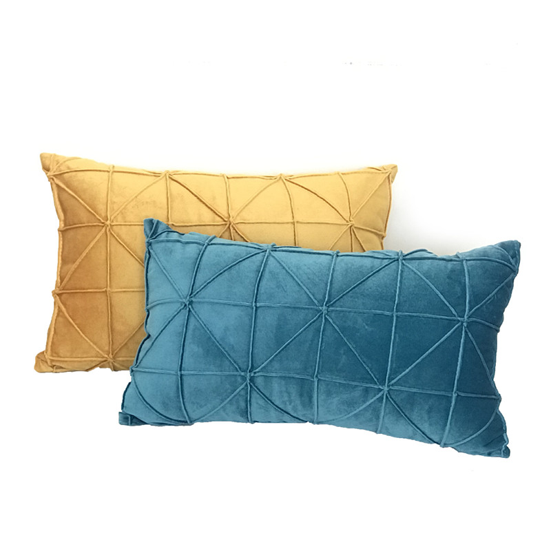 <font><b>30*50</b></font> cm Nordic <font><b>Pillow</b></font> Cover Rectangular Cushion Pure Color Simple Living Room Sofa Cushion Waist <font><b>Pillow</b></font> <font><b>Case</b></font> image