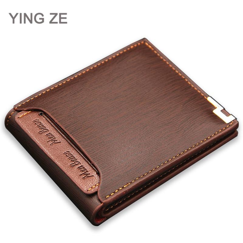 Menbense Coin Purse Wallets Credit-Card-Holder Functional Slim Masculina 119B-189 Carteira