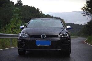 Image 5 - Vw Golf 7 GTI7 MK7 R MK7.5 TouranL Led yan ışık dinamik torna Blinker sİnyal lambası Golf 7 kristal dönme sinyali ışık