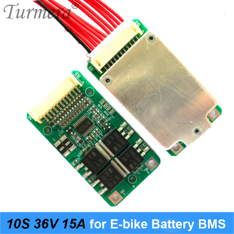 <font><b>10S</b></font> 36V 15A <font><b>18650</b></font> Li-ion Battery <font><b>BMS</b></font> for Electric Bike and E-scooter 36V 42V 20Ah 90Ah Battery Pack Use PTC with Balance Turmera image