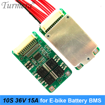 10S 36V 15A 18650 Li-ion Battery BMS for Electric Bike and E-scooter 36V 42V 20Ah 90Ah Battery Pack Use PTC with Balance Turmera image