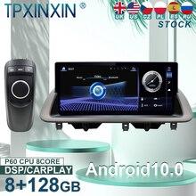 Autoradio Android 10, Navigation GPS, écran, unité centrale, enregistreur cassette, stéréo, pour voiture Lexus CT200, CT200H, CT 2012 – 2018