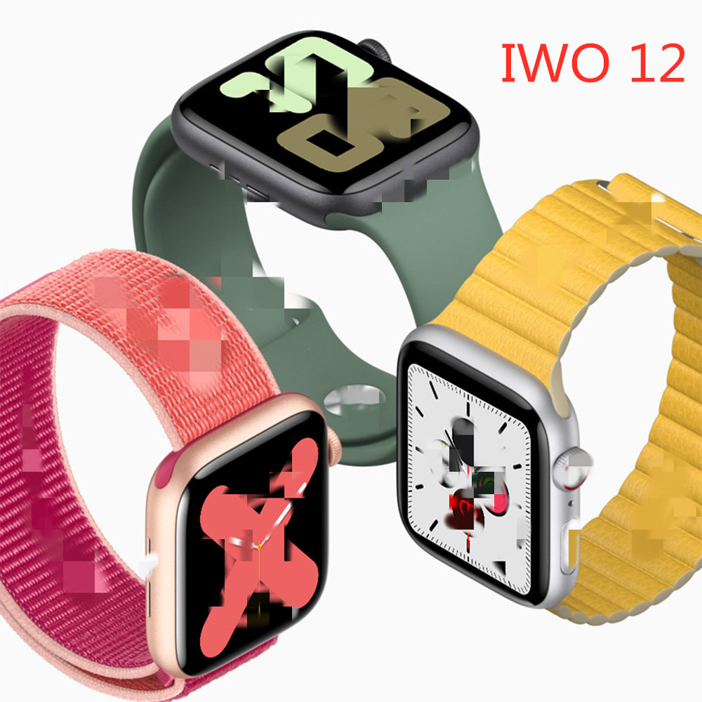 IWO <font><b>12</b></font> <font><b>Smart</b></font> <font><b>Watch</b></font> Series 5 Full Touch IP67 Fitness Tracker Bracelet Band Heart Rate Monitor waterproof Smartwatch VS IWO 8 <font><b>12</b></font> image