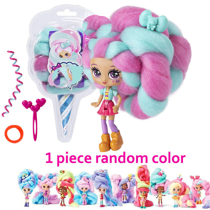 Reissue Candy Sweet Treat Toys Hobbies Dolls Accessories Marshmallow Hair 30cm Surprise Hairstyle with Scented Doll