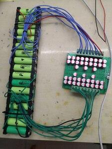 Image 5 - 3 4S 6S 7S 8S 10S 13S 14S 16S 20S نشط المعادل الموازن Lifepo4 ليثيوم ليثيوم أيون عفرتو البطارية الطاقة نقل BMS الرصيد المجلس