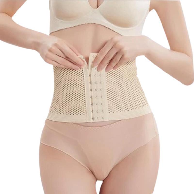 Waist Trainer Women Slimming Body Shapers Elastic Postpartum Abdomen Belt