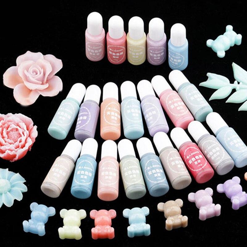 24 Color DIY Crystal Epoxy Solid Color Precision High Concentration Cream Solid Color Resin Pigment Colorant