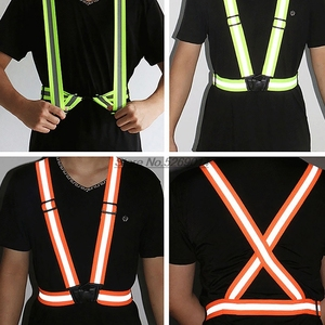 Motorcycle jacket reflective Accessories safe moto rider jacket for Back Protector Hrc Husqvarna Moto Yamaha Jersey Shift(China)