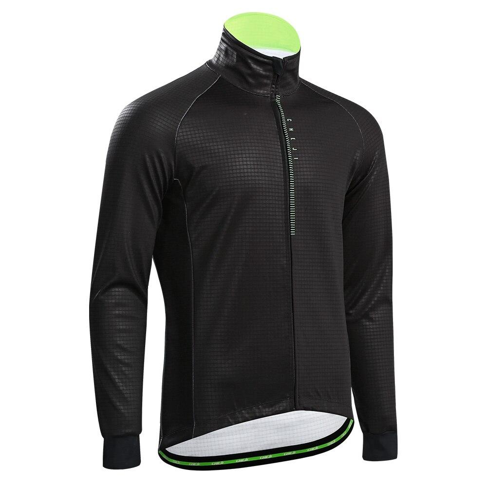 CHEJI 2019 hiver cyclisme veste hommes imperméable thermique coupe vent vtt vélo Kits vélo vêtements - 2