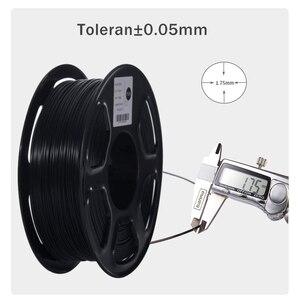 Image 2 - PLA/ABS/PETG/TPU Filament 1.75 mm 1KG/0.8KG 343m/10m 2.2LBS ABS Carbon Fiber 3D Plastic Material for 3D Printer and 3D Pen