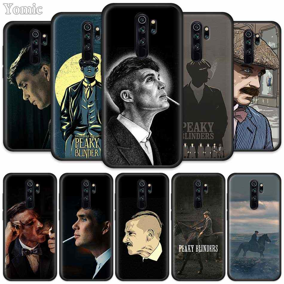 Peaky Blinders Dilengkapi Case untuk Xiaomi Redmi Note 8T 6 7 8 K20 Pro 8A 7A 7S 6A silikon Hitam Ponsel Bag Cover Coque