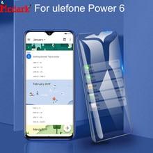 Mcdark 2.5D 9H vidrio templado para Ulefone Power 6 Protector de pantalla 6,3 pulgadas para Ulefone Power 6 película de cubierta de vidrio endurecido para teléfono