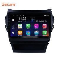 Seicane Android 9.0 GPS Navigation 9 Radio For 2013 2014 2015 2016 2017 Hyundai IX45 New Santa Fe Car Multimedia Player