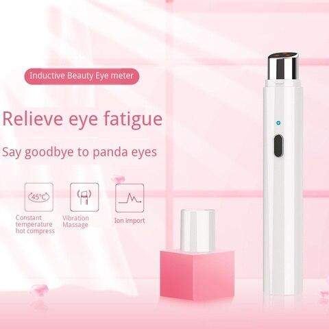 massagem cuidados com os olhos luz