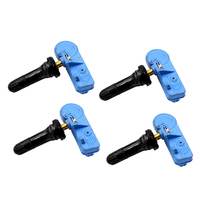 4 pçs sensores de pressão dos pneus tpms para gmc para buick para cadillac para chevrolet 20922901 13581561 22853740 Sensor de pressão     -