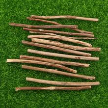 200 sztuk drzewo herbaciane kije narzędzie rzemieślnicze ręcznie malowany obrazek pręty rekwizyty fotograficzne dla domu sklep sklep (średnica 0 3-0 5CM) tanie tanio CN (pochodzenie) tea tree sticks wooden sticks log sticks DIY wooden sticks DIY wood sticks