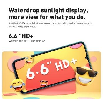 Global Version Infinix Hot 10 Lite 2GB 32GB Smart Phone 6.6''HD Screen Mobile Phone 5000mAh Battery 13MP AI Triple Camera 3