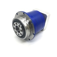 100:1 5Arcmin Flange Output Helical Gear Reducer  6000rpm 16mm Input 60Nm Planetary Gearbox for 90mm 750W Servo Motor Robot