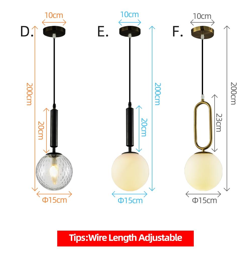 Zerouno תליית תליון אורות קריסטל זכוכית נורדי בר קפה בועת כדור תליון מנורות רוז זהב אוכל חדר דקו LED תאורה-באורות תלויים מתוך פנסים ותאורה באתר