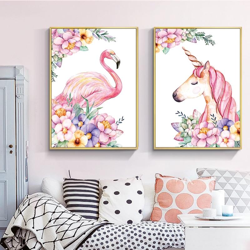 Flamingo Canvas Decorative Fabric Fabric
