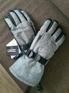COPOZZ Ski-Gloves Women Touchscreen-Function with Snowboard Warm