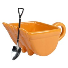 Mug-Cups Coffee-Mugs Ceramic for Drink Tea-Cake-Cup 340ml Excavator-Bucket-Model Creative