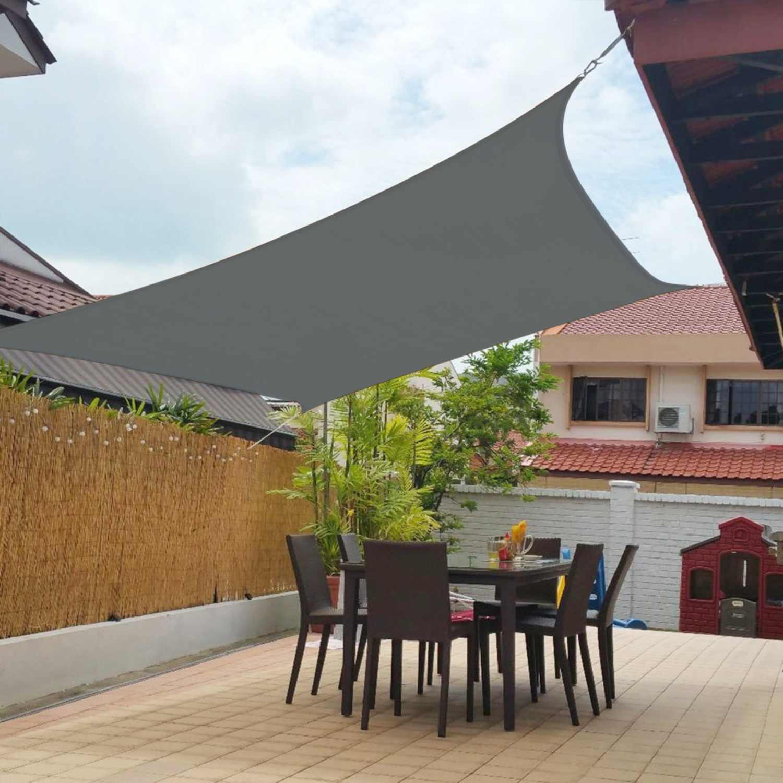 Sun Shade Sail Net Patio Garden Cover