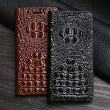 Leather Flip Case For DOOGEE BL5000 BL7000 BL12000 X3 X5 Max Pro X9 Mini X10 X20 X30 X50 X60L X70 N10 Y8 Mix 2 Crocodile Head