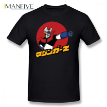 Mazinger T Shirt Z T-Shirt 100 Cotton 5x Tee Mens Beach Graphic Short Sleeves Funny Tshirt