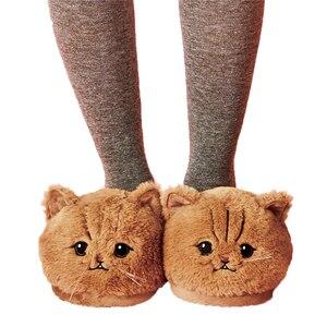 Image 1 - DROPSHIPPING Mới Xuất Hiện Millffy Dễ Thương Sang Trọng Mèo Con Mềm Hình Thú Mèo Nữ Sang Trọng Dép Nhà Nữ Phòng Ngủ Dép