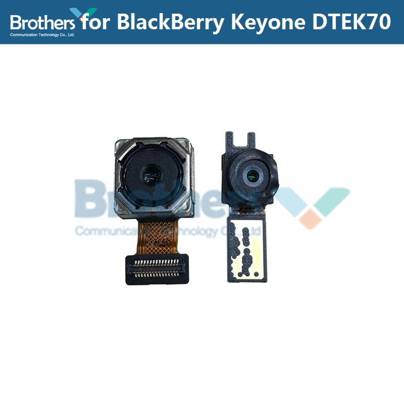 For BlackBerry Keyone DTEK70 DREK 70 Back Camera Rear Big Camera Front Small Camera Module Flex Cable Phone Replacement Tested