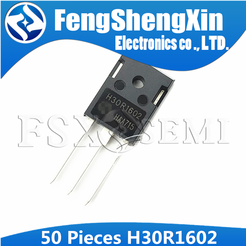 50pcs IHW30N160R2 TO-247 H30R1602 TO247 IHW30N160 IGBT  TrenchStop Reverse Conducting (RC-)IGBT With Monolithic Body Diode