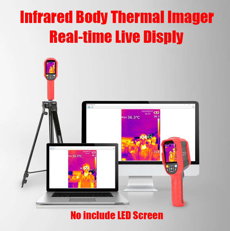 A-<font><b>BF</b></font> Infrared Thermal Imager Adult/Child Digital Thermometer High Temperature Screening Thermal Camera Real Time Live Display image